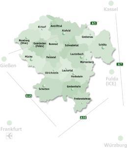VB Kreiskarte grün KS