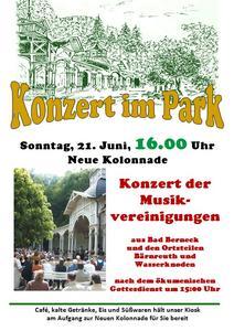 Plakat Musikvereine