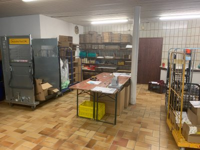 Neuer Versandbereich Paket und Paletten bei Aloe Vera Servcie