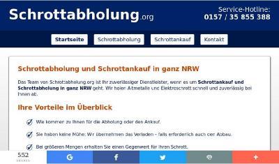 Schrottabholung in Krefeld