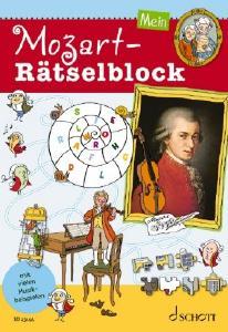 Schott ED23144 Mein Mozart-Rätselblock