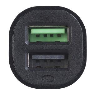 revolt Kfz-USB-Ladegerät, 2 Ports, Quick Charge 3.0, 12/24 V, bis 3 A/31,5 W