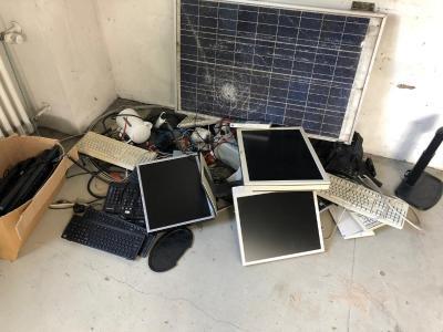 Elektroschrott Entsorgung durch Schrotthändler aus Haan