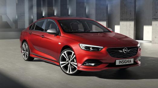 Ganz großer Sport: Der neue Opel Insignia Grand Sport hat auf dem Genfer Automobilsalon seinen ersten Auftritt vor großem Publikum