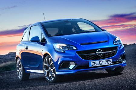 Echter Leistungssportler: Der neue Opel Corsa OPC mit 1,6 Liter Turbomotor und 152 kW/207 PS wird in Genf erstmals zu sehen sein © GM Company