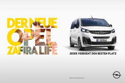2019 Opel Zafira Life Kampagne