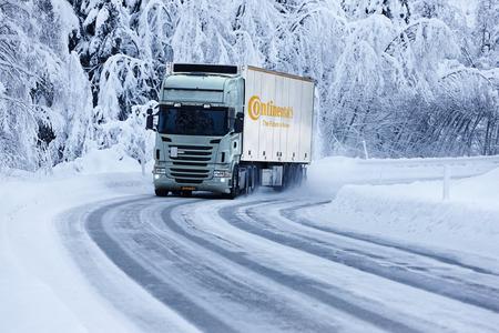 Spezifische Winterreifen für alle Lkw-Achsen für einen sicheren Güterverkehr