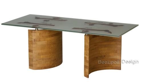 Exklusive unvergleichliche massivholz esstische und for Exklusive esstische glas
