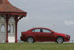 lancer sports sedan profile static uk