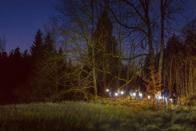 Lichterwanderung mit Hexe Tula