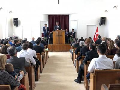 Wiedereröffnungsfeier in der Taksim Kirche, Istanbul, © Foto: Middle East and North African Union News/Adventist World
