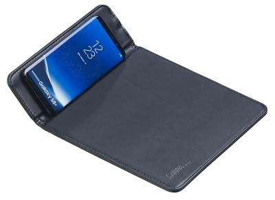 Callstel Mauspad mit Induktions-Ladestation für Qi-kompatible Smartphones, 1 A