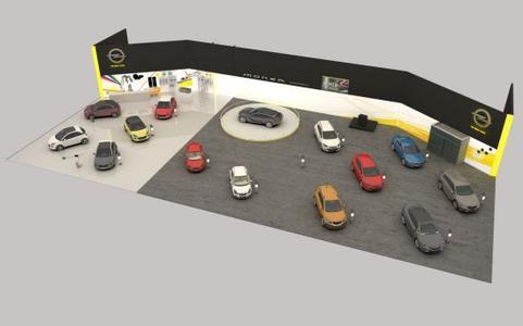 ADAM R2 und Monza Concept: Opel-Stars auf der Essen Motor Show