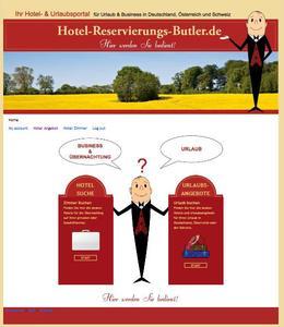Hotel-Reservierungs-Butler