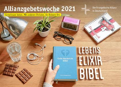 Plakat zur Allianzgebetswoche 2021  © Cover: EAD