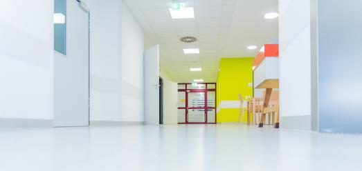 Umbau der Psychiatrischen Intensivstation im Klinikum Karlsruhe / Bild: Markus Kümmerle, Städtisches Klinikum Karlsruhe