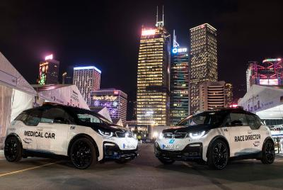 Formel E, BMW i3s, Medical Car, Race Control Car, Hongkong