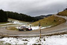 Kubica holds top spot in Austrian ERC battle