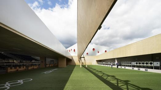 Olympic and Paralympic Shooting Arenas / Foto: © Hufton+Crow