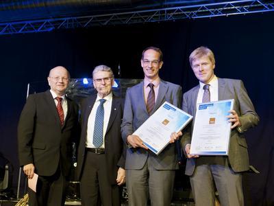 Prof. Dr. Paul-Gerhardt Schlegel, Dr. Kurt Eckernkamp, PD Dr. Matthias Wölfl und Prof. Dr. Matthias Eyrich