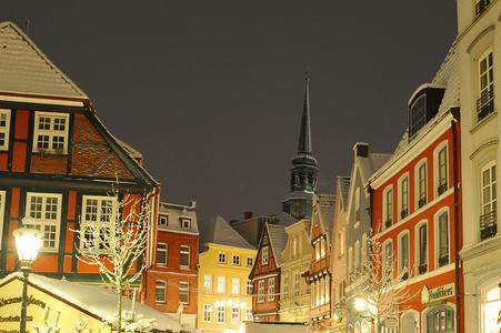 Weihnachtsmarkt, Foto: STADE Tourismus-GmbH/Martin Elsen