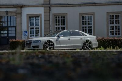 Tuning in Vollendung: Ultratiefer Audi S8 auf Barracuda Ultralight Project X