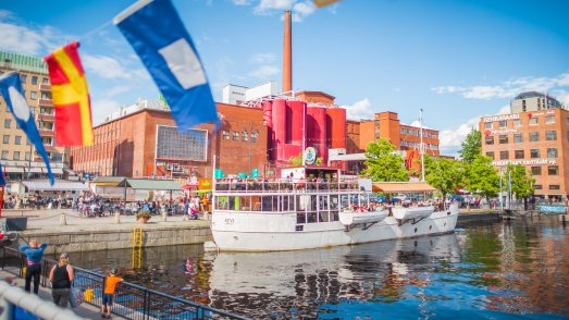 Im Hafen Laukontori Tampere