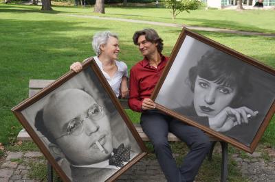 Marie-Helen Joël und Thomas Büchel / Foto: TUP