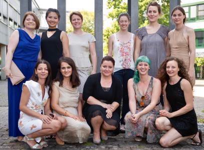 Die neuen Maßschneiderinnen der Metzinger Meisterschule