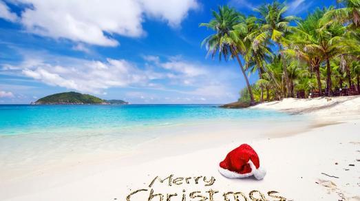 Warme Weihnachten am Strand: Attraktive Angebote für ein Weihnachtsfest unter Palmen