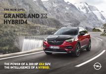 Start of New 360-degree Opel Grandland X Hybrid4 Campaign
