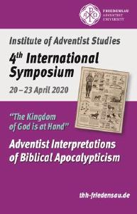 "Symposium ""Adventistische Interpretationen biblischer Apokalyptik"""