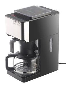 Rosenstein und Soehne Digitale Vollautomatische Filter-Kaffeemaschine Kegelmahlwerk Touch / Bezugsquelle: PEARL.GmbH