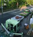 Für Reparaturen am Dach kann das Material nun mal nicht mit dem Lastenfahrrad zur Baustelle gebracht werden. Foto: HF.Redaktion (honorarfrei)