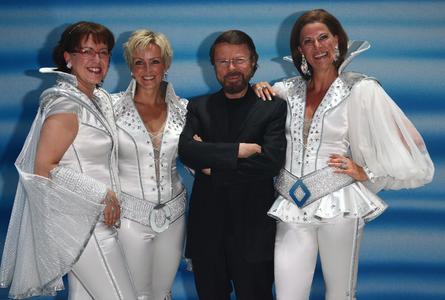 Björn Ulvaeus bei der MAMMA MIA! Premiere in Essen
