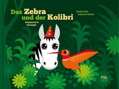 Buchcover Das Zebra und der Kolibri