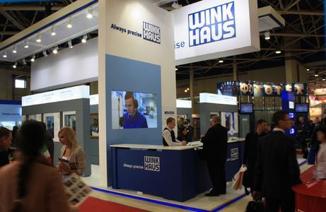 Erfolgreich blickt Winkhaus auf die MosBuild 2012 zurück
