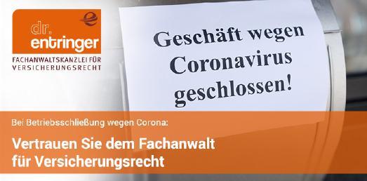 Versicherungsfall Corona - Bayerns Weg bei Betriebsschließungsversicherung erweist sich zunehmend als fauler Kompromiss