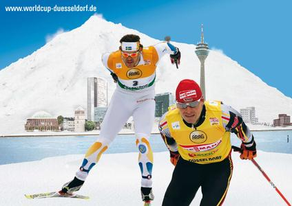 Logo FIS Skilanglauf Weltcup Düsseldorf 2008