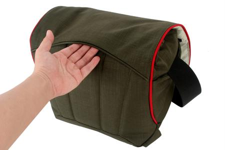 fully removable photo pouch with extra strong bottom padding