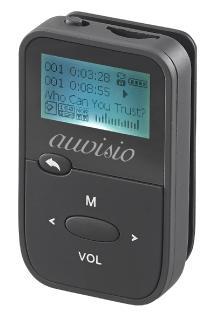 ZX 1786 02 auvisio 2in1 Audio Player und Sprachrekorder DMP 190.rec