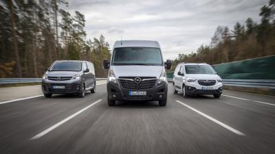 Opel/Vauxhall: Significant Growth in the Light Commercial Vehicle Business in the First Quarter
