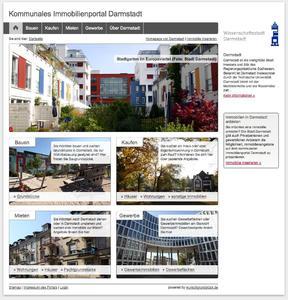 Das kommunale Immobilienportal der Stadt Darmstadt