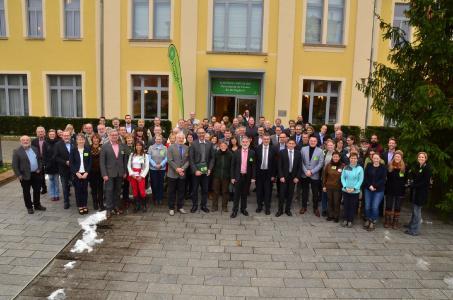 Rund 120 (Tourismus-)Experten aus nah und fern, politische Vertreter, regionale Akteure und Interessierte konnten beim HAINICH-FORUM 2018 begrüßt werden. Foto: Rüdiger Biehl