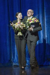 Prof. Birgit Keil und Peter Breuer - Photo Mario Perricone