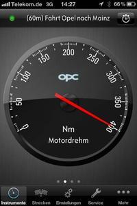 Jetzt macht Opel mit der OPC PowerApp als erster Hersteller ausgesuchte, leistungsbezogene Daten zugänglich und eröffnet technikaffinen Liebhabern sportlicher Fahrzeuge eine ganz neue Welt