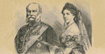 Kaiser Wilhelm I. und Kaiserin Augusta von Sachsen-Weimar
