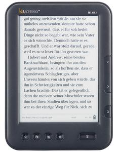 "eLyricon 6"" eBook-Reader EBX-610T.E-Ink mit Touchscreen & MP3-Player"