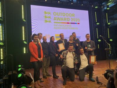 Outdoor-Award für Höhlentour Falkensteiner Höhle