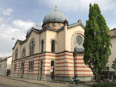 Synagoge Basel: Versammlungs- und Gotteshaus der Juden in der Region © Foto: Herbert Bodenmann/APD Schweiz